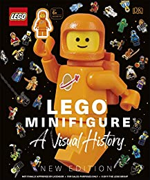 LEGOR Minifigure A Visual History New Edition: With exclusive LEGO spaceman minifigure!