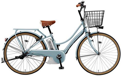 YAMAHA(ヤマハ) 電動アシスト自転車 2018年 ファッショナブルモデル PAS Ami 26インチ 12.3Ahリチウムイオンバッテリー搭載 PA26DGA8J シアンブルー