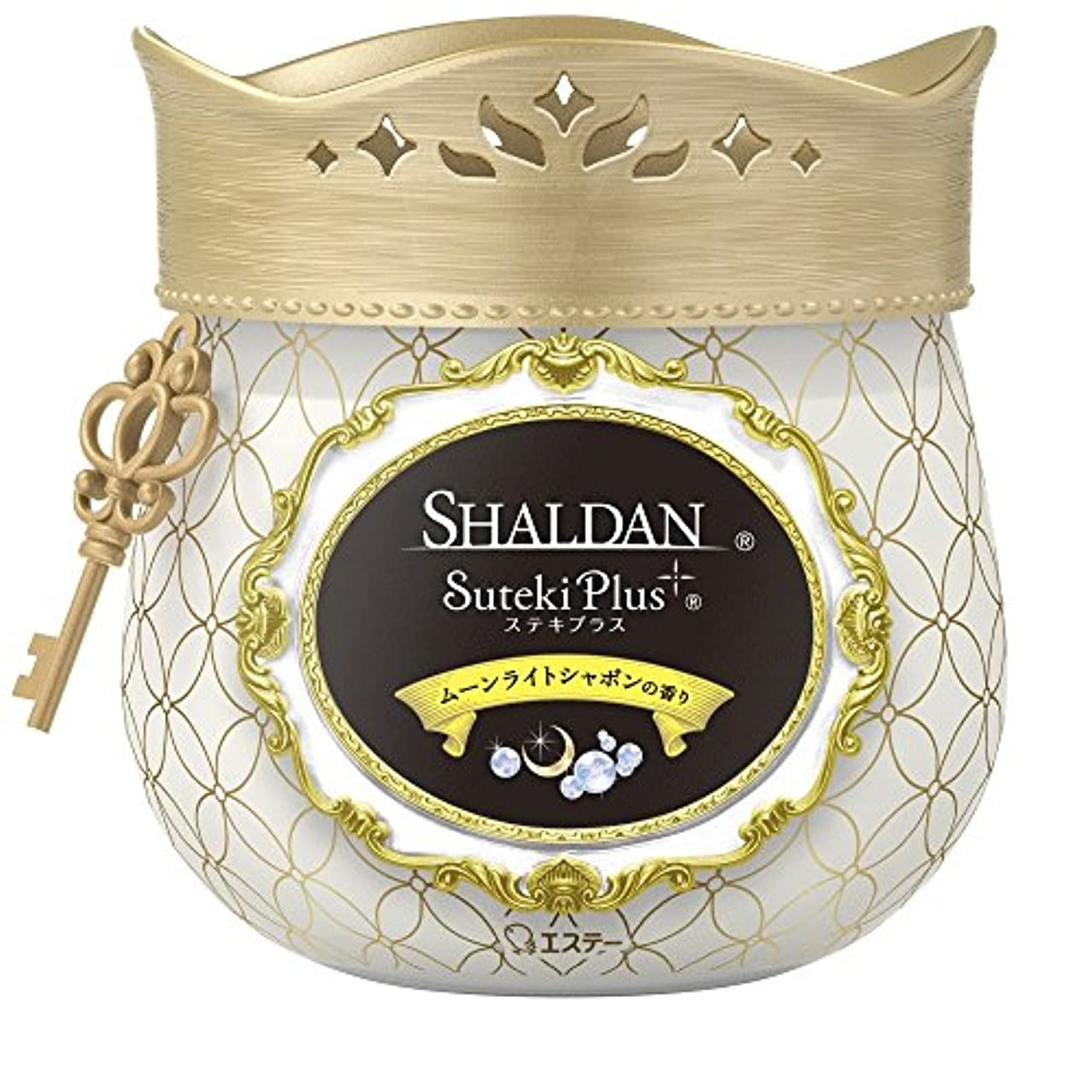 メリー大統領労働者シャルダン SHALDAN ステキプラス 消臭芳香剤 部屋用 部屋 玄関 ムーンライトシャボンの香り 260g
