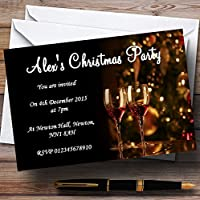 Mulled wine Personalizedクリスマス新しい年/休日/パーティー招待状 20 Invitations