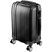 """Yescom 20"""" Luggage Rolling ABS Hard Shell Lightweight Travel Suitcase 360 Degree 4 Wheels Lockable Trolley"""