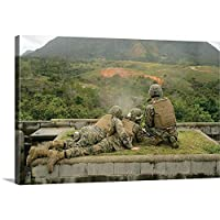 """Stocktrekイメージギャラリー‐ Marines Engage unknown-distanceターゲットatキャンプシュワブ、日本 60"""" x 40"""" 1046778_1_60x40_none"""