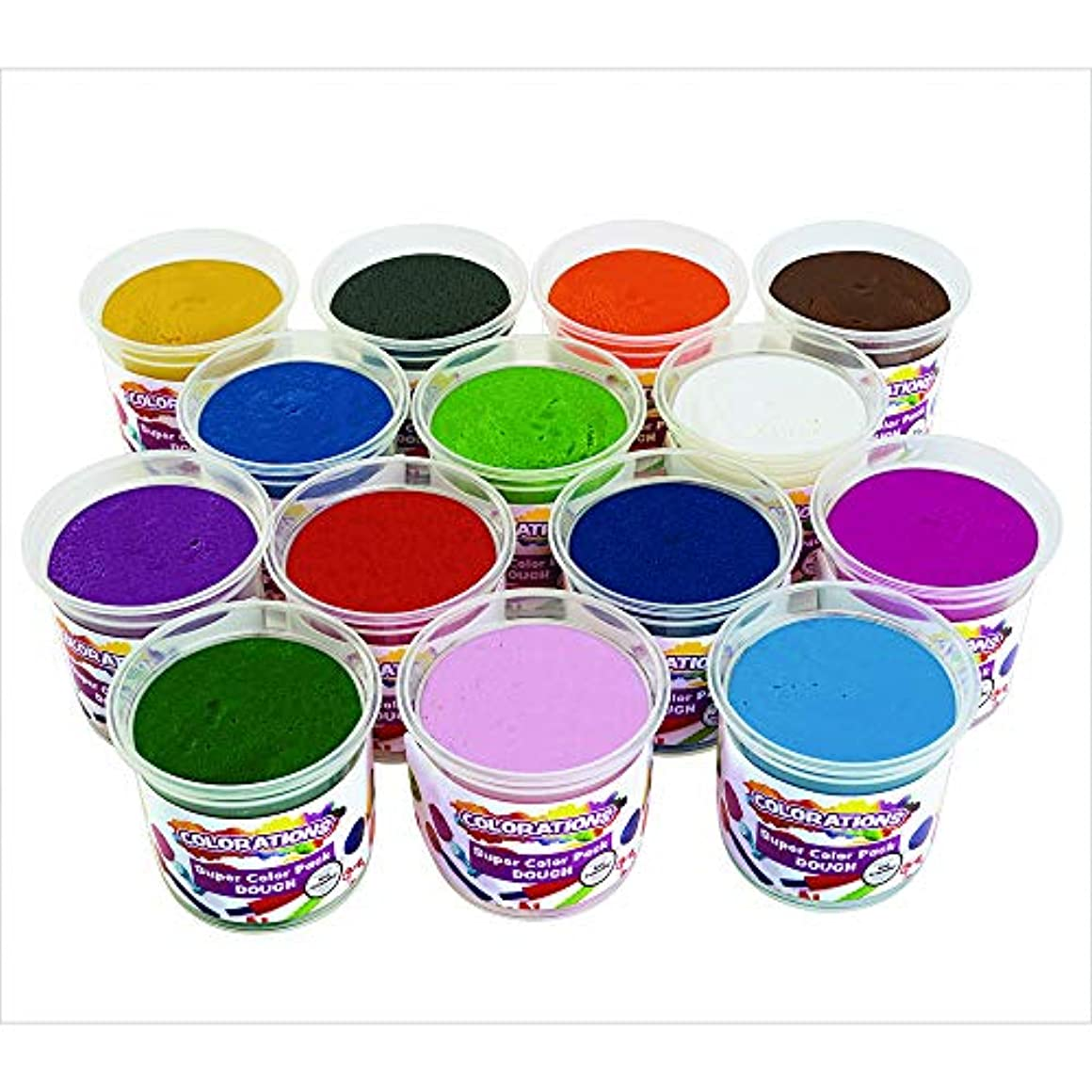 スロベニアスナッチ融合Colorations Best Value Dough – セットof 14 ( Item # docolors )