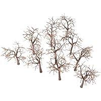 10本セット モデル 裸の木 モデルツリー 樹木 モデルツリー 模型 木 森 材料 キット 鉄道 建物 ジオラマ 箱庭 風景 情景コレクションザ 教育 写真 12cm