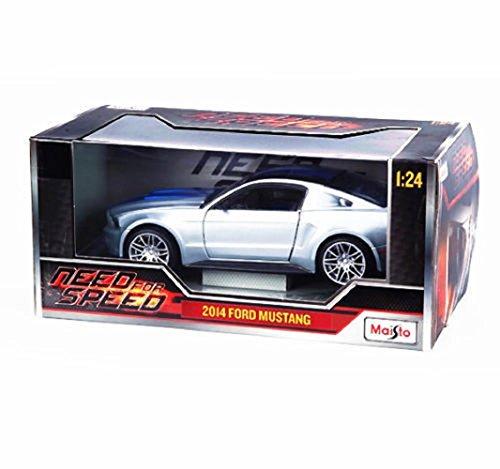 マイスト Maisto 1/24 フォード マスタング Need For Speed 2014 Ford Mustang 車 モデル Car ダイキャストカー アメ車 Diecast Model オフロード ミニカー [並行輸入品]