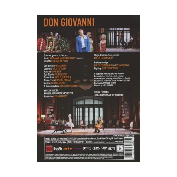 Don Giovanni [DVD] [Imp...の紹介画像2