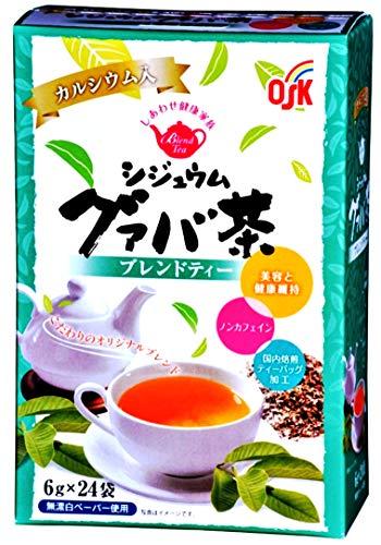 OSK しあわせ健康家族 シジュウムグァバ茶24袋×3箱