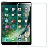 ESR iPad Pro 10.5 フィルム ブルーライトカット 液晶保護 三倍強化ガラス 日本製旭硝子素材採用 硬度9H 飛散防止 気泡ゼロ 指紋付きにくい iPad Pro 10.5インチ専用 保護フィルム