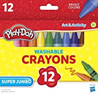 Leap Year Publishing 1577686洗濯可能スーパージャンボcrayons44 ; Assorted Colors – 12のセット