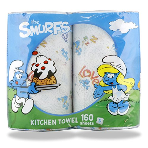 RoomClip商品情報 - キッチンペーパータオル「スマーフ」2ロールパック:3層160シート(イタリア製)