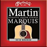 Martin ( マーチン ) MARQUIS 80/20 BRONZE M1100 ブロンズアコースティック弦(12-54) お試し1セット