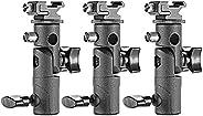 Neewer Professional Universal E Type Camera Flash Speedlite Mount Swivel Light Stand Bracket with Umbrella Hol