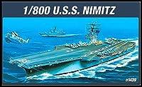 アカデミー CVN-68 NIMITZ プラモデル 1/800