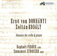 Donhanyi/Kodaly: Sonatas for C
