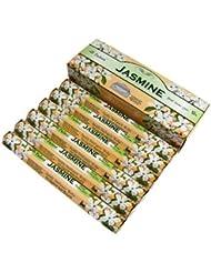 TULASI(トゥラシ) ジャスミン香 スティック JASMINE 6箱セット