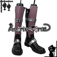●●サイズ選択可●●男性27.5CM MJS1180 コスプレ靴 ブーツ ファイナルファンタジーXIII ライトニング エクレール・ファロン