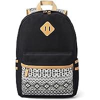Plambag Women's Backpack Cute Bookbag, Laptop School Backpack