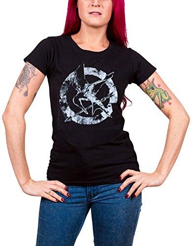 [해외]The Hunger Games T Shirt Down With The Capitol 공식 숙녀 Skinny Fit/The Hunger Games T Shirt Down With The Capitol Official Ladies Skinny Fit