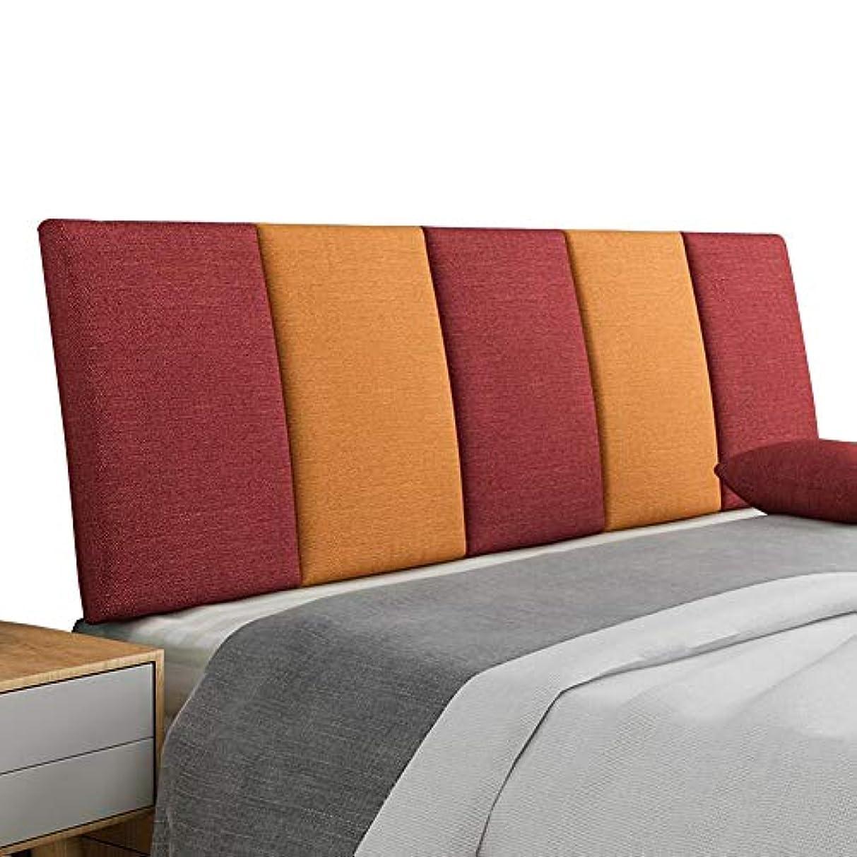 勝者受信機適応するLIANGLIANG クションベッドの背もたれ コットンリネン 布 ベッド 熱心な 通気性 環境を守ること 快適、 5色 (Color : D, Size : 200x55x5cm)