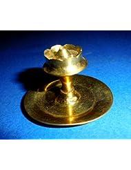 小さな真鍮Agarbattiスタンドfor Diwali Navratra – Incense Stick Holder – Prayer Religious Incense Burner