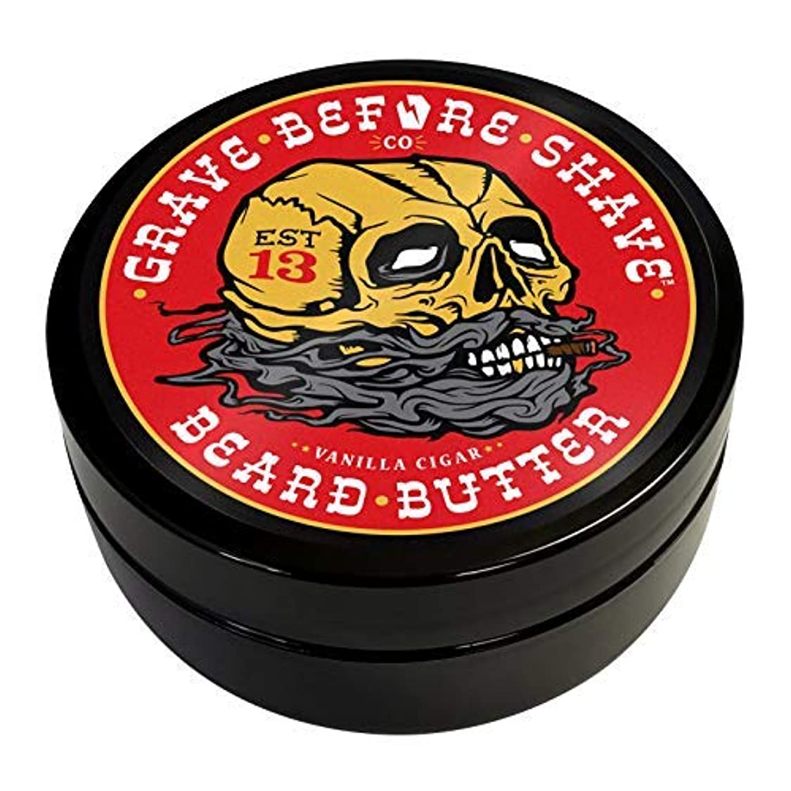 正当な固執ロッドGrave Before Shave Cigar Blend Beard Butter [並行輸入品]