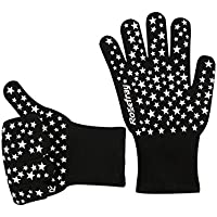 Rosefray 耐熱手袋 バーベキューグローブ 2枚セット 耐熱温度500℃ クッキングツール 高熱作業に最適