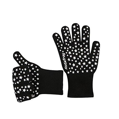 Rosefray 耐熱手袋 バーベキューグローブ 2枚セット...