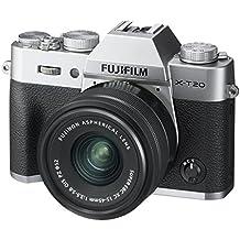 Fujifilm X-T20 Mirrorless Digital Camera w/XC15-45mmF/3.5-5.6 OIS PZ Lens - Silver