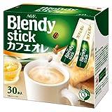 AGF ブレンディ スティック カフェオレ 30本 【 スティックコーヒー 】