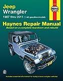 ヘインズ整備書「ジープ・ラングラー (1987-2011)」 Jeep Wrangler
