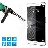 ATiC Huawei MediaPad T2 7.0 Pro/MediaPad M2 7.0タブレット専用強化ガラス液晶保護フィルム 表面硬度9H/耐衝撃/高透明度/指紋防止/気泡ゼロ 透明 (一枚)
