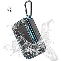 アウトドア スピーカー、自転車 Bluetooth スピーカー、VStoy S618 【ポータブル スピーカー、Bluetooth 4.1、8時間連続再生、6Wウーファーと増強リゾネーター、IPX7防水、防振、防塵、頑丈な作り】
