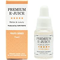 VAPE TOKYO 電子タバコ用 リキッド 10ml ピーチ(Peach) PREMIUM E-JUICE フルーツシリーズ Peach