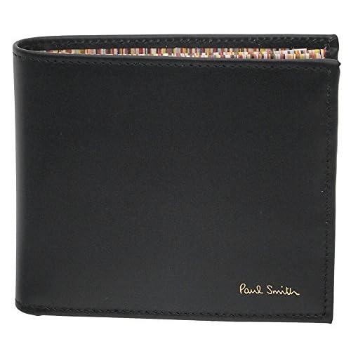 (ポールスミス)Paul Smith メンズ 財布 二つ折り 4833-W761-B BLACK [並行輸入品]