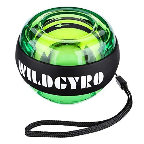 スナップボール HOCOSY オートスタート 自動回転 静音 握力 紐不要 手首 筋トレ トレーニング 腕力 筋力 リストトレーナー 簡単