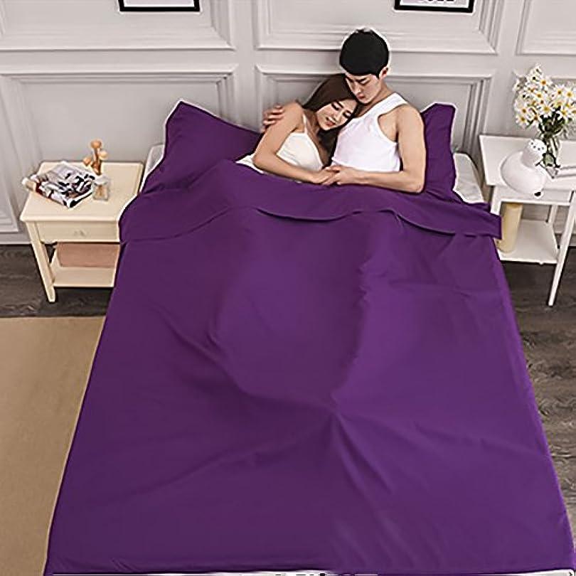 幻滅するアンビエントコントラストRaiFu 寝袋 ナチュラル コットン ライナー トラベル シート 睡眠袋 内蔵 枕カバー 屋外 キャンプ ハイキング ホテル