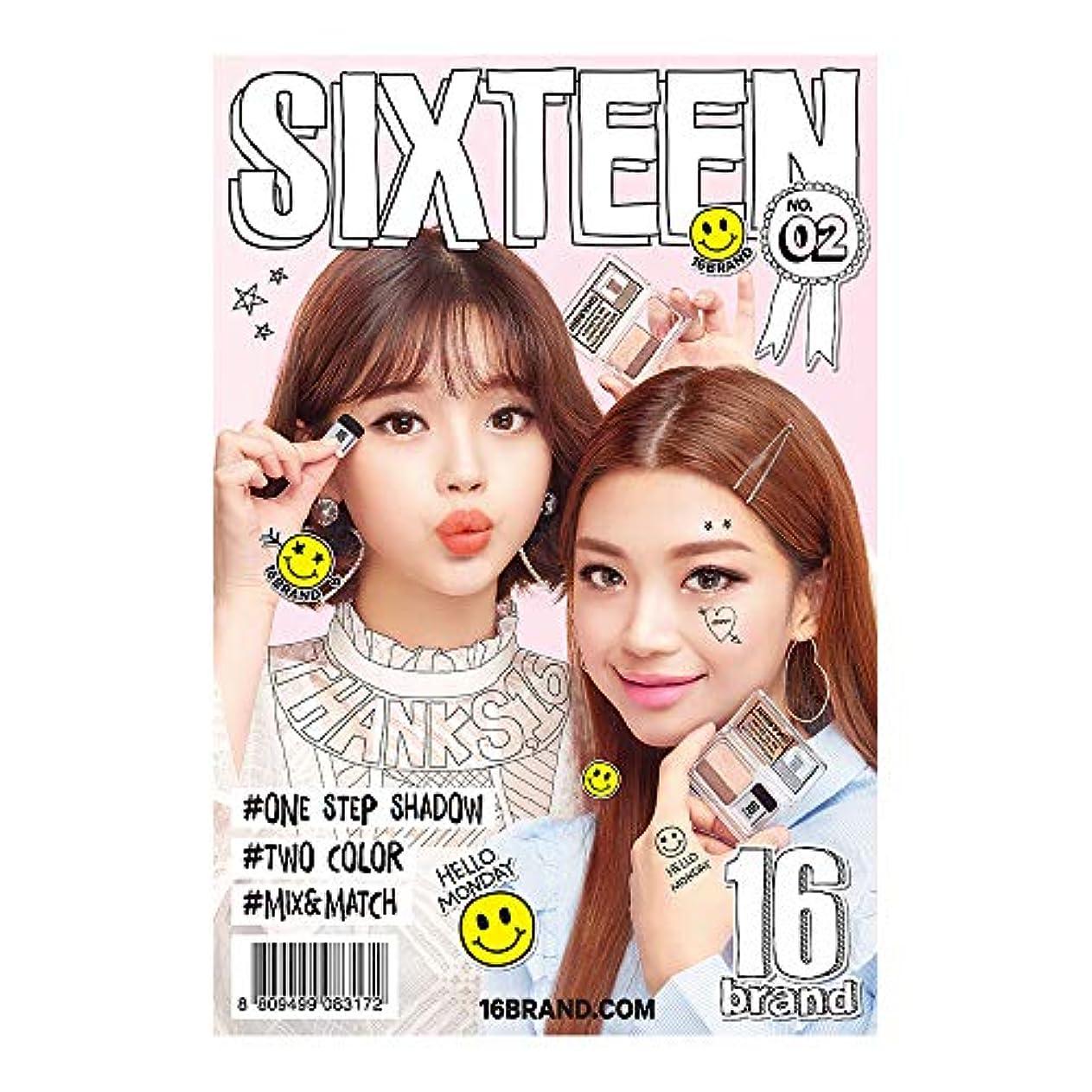 ゲストバッフル寛解16brand 16 Eye Magazine 2g /16ブランド 16 アイマガジン 2g [国内正規品](ハローマンディ)