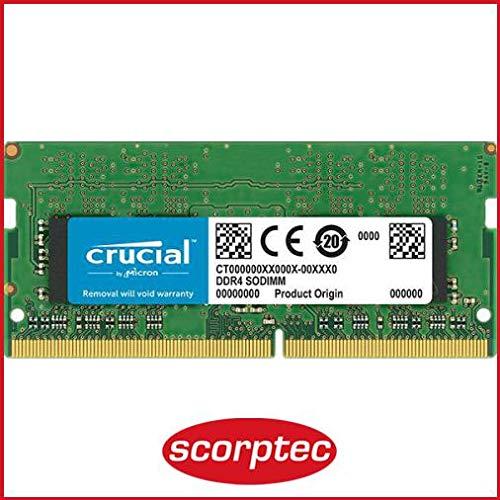 Crucial(Micron製) ノートPC用 メモリ PC4-21300(DDR4-2666) 8GB×1枚 CL19 SRx8 260pin (永久保証) CT8G4SF...