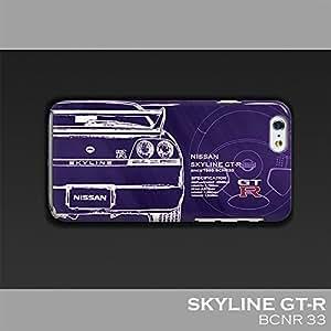 「日産(NISSAN) GT-R」 iPhoneケース(ポリカーボネート) for R33 (iPhoneSE/5/5S)
