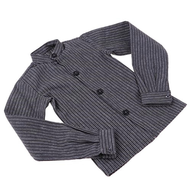 Fenteer ファッション 3分ドール 1/3 分bjd人形 男性人形適用 シャツ Tシャツ トップス ドール服 アクセサリー