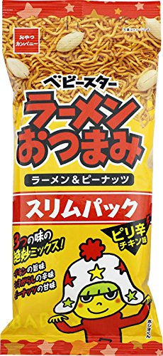 おやつカンパニー ベビースターラーメンおつまみピリ辛チキン味スリムパック 60g×9袋