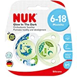 NUK Boy SIL Soother Glow in Dark, 6-18M