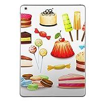 第6世代 iPad 9.7インチ 9.7inch iPad6 2018年モデル A1893 A1954 スキンシール apple アップル アイパッド タブレット tablet シール ステッカー ケース 保護シール 背面 人気 単品 おしゃれ おしゃれ デザート マカロン カラフル 009762