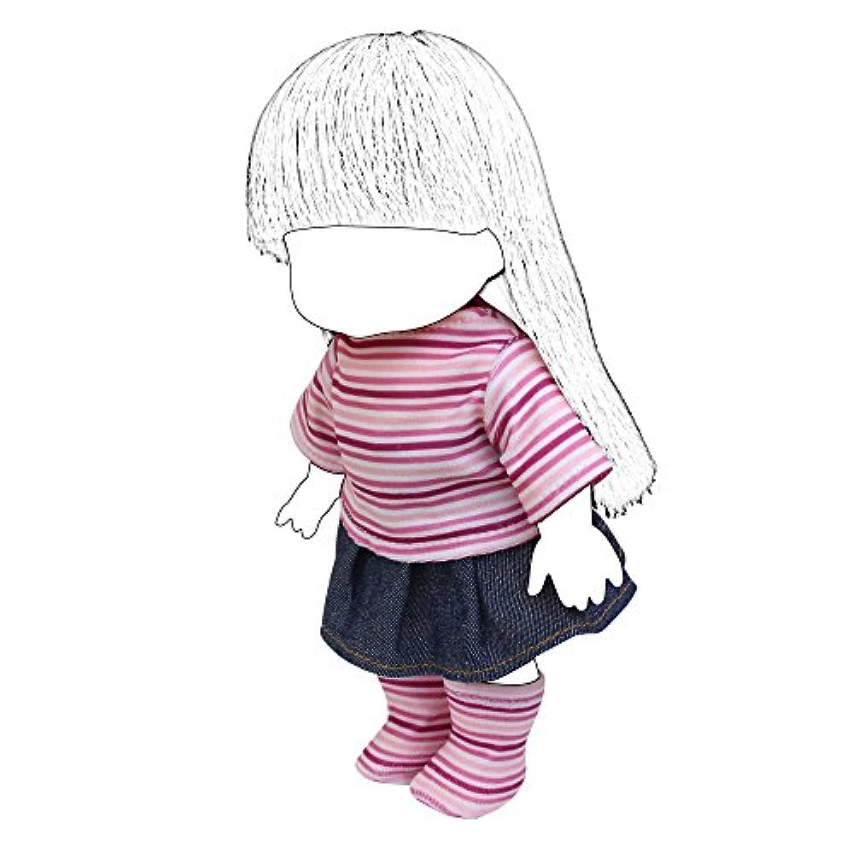 ZITA ELEMENT 26cm人形用 きせかえ3点セット トップス+スカート+1足ストッキング