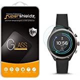 (2 Pack) Supershieldz for Fossil Sport Smartwatch 43mm (Gen 4) Tempered Glass Screen Protector, 0.33mm, Anti Scratch, Bubble