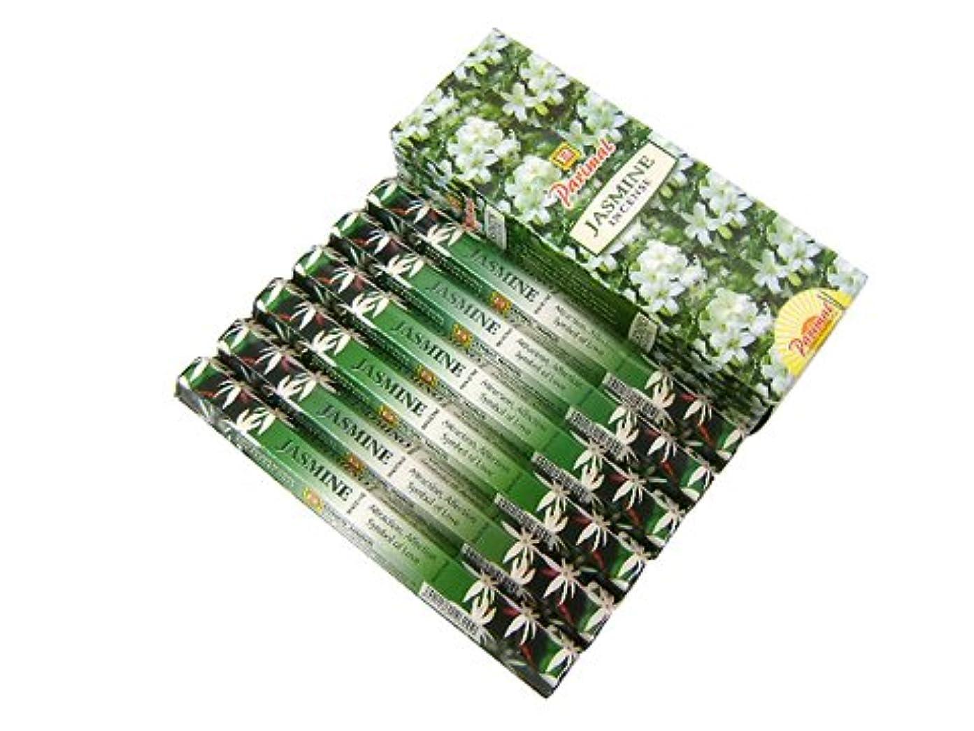 成果ポーズアセンブリPARIMAL(パリマル) ジャスミン香 スティック JASMINE 6箱セット