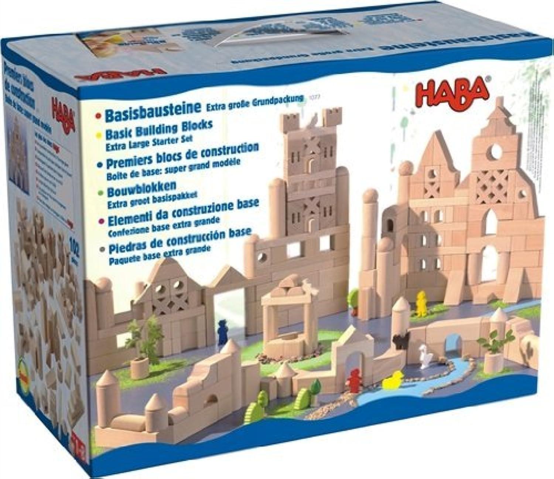 積木 HABA ブロックス グランドセット<ハバ社 ドイツ>1077 並行輸入