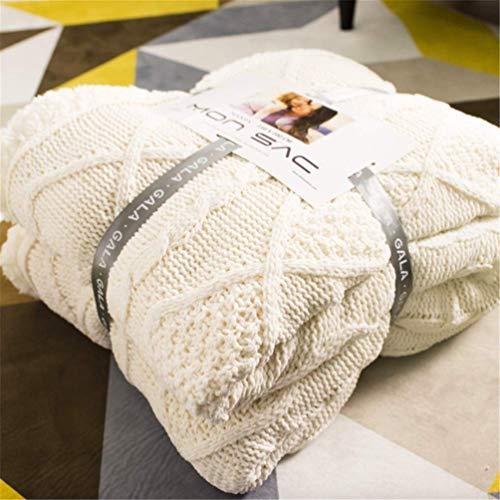 Enipate 毛布 シングル ニットブランケット かわいい 北欧 ひざ掛け 洗える あったか もこもこ 二枚合わせ プレゼント 子供 ベビー毛布 冷房対策