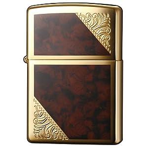 ZIPPO(ジッポー) ライター ベネチアン デザイン 両面加工 ゴールド 2GW-BM