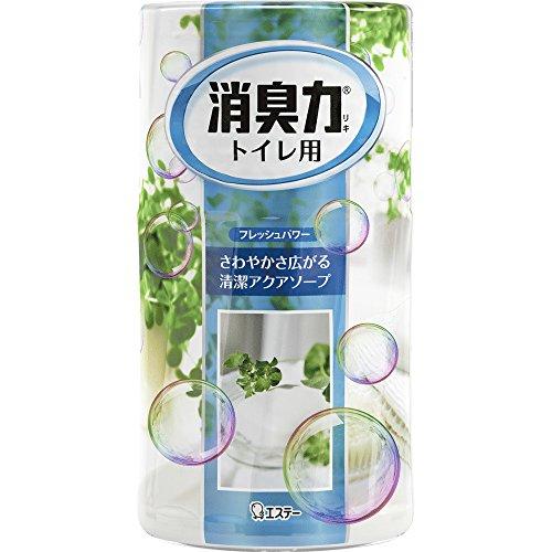トイレの消臭力 消臭芳香剤 トイレ用 トイレ アクアソープの香り 400ml